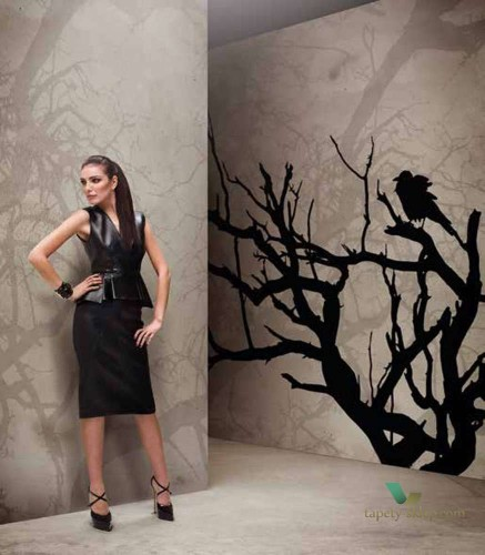 Tapeta Wall&Deco Crow GPW1417 Contemporary 14