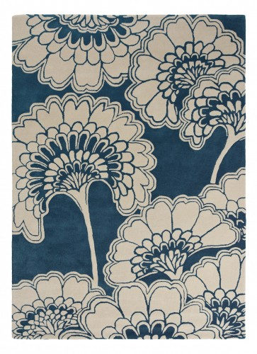 Dywan Florence Broadhurst Japanese Floral Midnight 039708