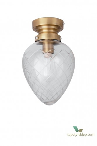 Lampa sufitowa Juni IP44 Cut Glass Clear 690151 Globen