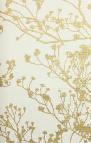 Tapeta York Wallcoverings HC7516 Budding Branch Silhouette Handcrafted Naturals