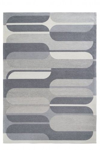 Dywan Geometryczny Abdre Grey Carpet Decor Magic Home