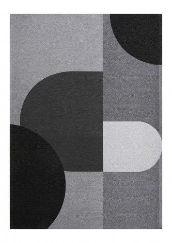 Dywan Geometryczny Rene Grey Carpet Decor Magic Home