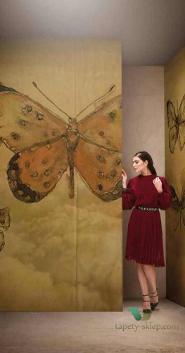 Tapeta Wall&Deco Butterflies GPW1433 Contemporary 14