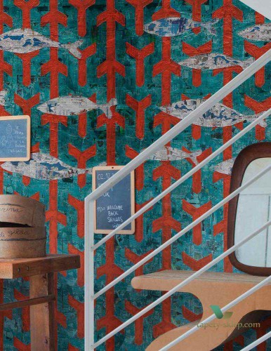 Tapeta Wall&Deco Fish wish WDFW1401 Contemporary 14