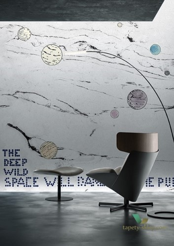 Fototapeta Wall&Deco WDDW1801 THE DEEP WILD SPACE Contemporary 2018