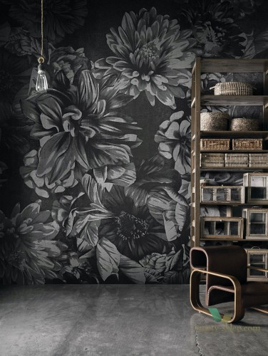 Tapeta London Art 18045 Dark Floral