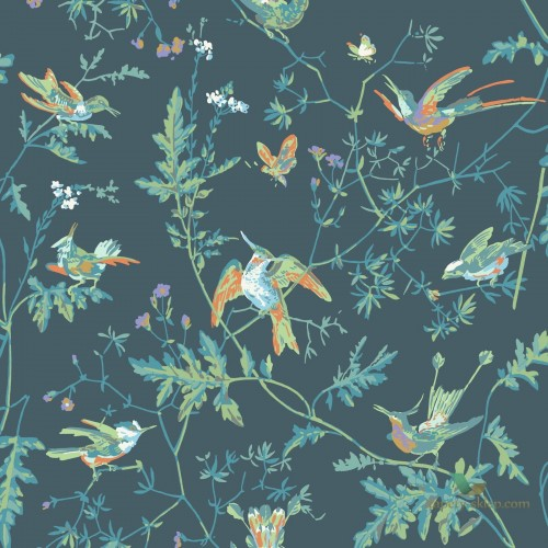 Tapeta Cole & Son Icons 112/4014 Hummingbirds