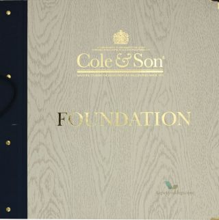 Tapeta Cole & Son Foundation