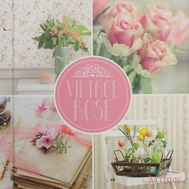 Vintage Rose / Brewster Wallpaper / Tapety kolekcje - Sklep internetowy www.tapety-sklep.com