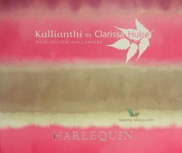tapet Harlequin Kallianthi by Clarissa Hulse.