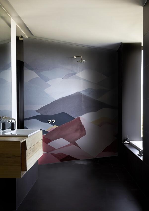 Fototapeta pod prysznic abstrakcja