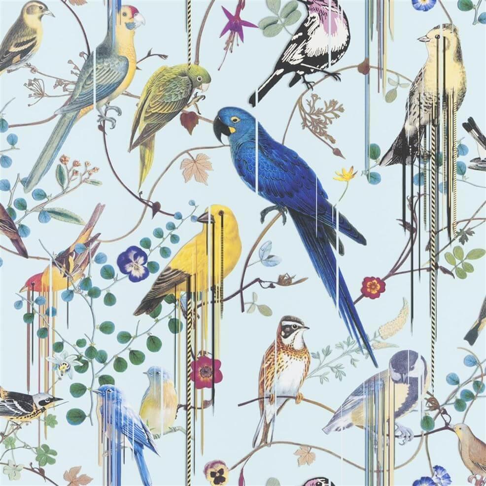 Tapeta papugi Christian Lacroix PCL7017/06 Birds Sinfonia Histoires Naturelles