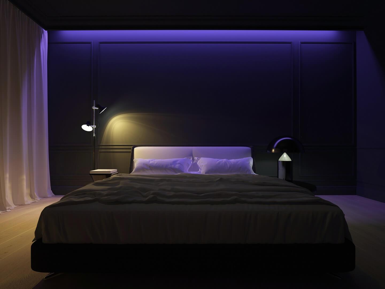 Listwa oświetleniowa do sypialni