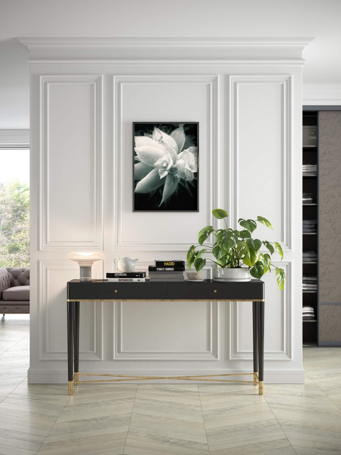 Nowoczesna listwa sufitowa do pokoju