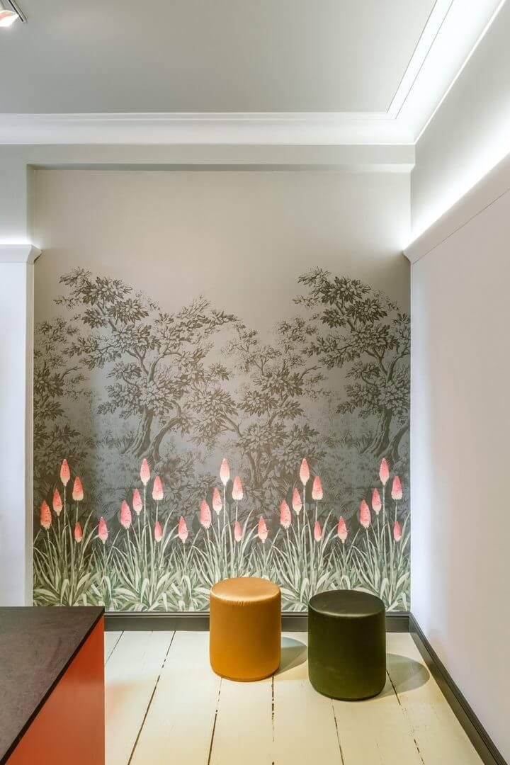 listwa dekoracyjna LED do salonu