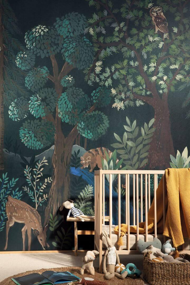 Mural w leśne zwierzęta Caselio FRT102980199