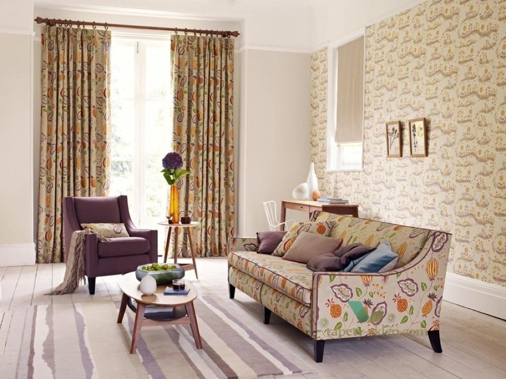 Options 11 sanderson tapety kolekcje sklep - Telas para tapizar sofas ...